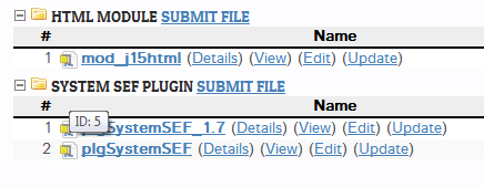 docmanlist 2.5.0 submit file feature